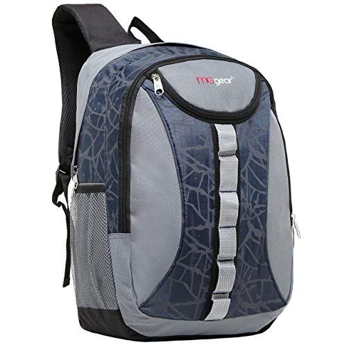18 Inch MGgear Student Bookbag/Children Sports Backpack/Travel Carryon, Navy