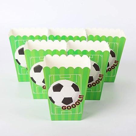HengYiJiaJu 6 unids/Lote Tema de fútbol y fútbol Caja de ...