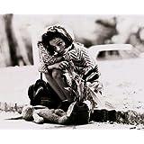 ブロマイド写真★映画『レオン』ナタリー・ポートマン/白黒/ラストの名シーンのマチルダ