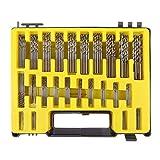 Bestgle 24 Sizes 0.4-3.2mm HSS Mini Twist Drill Bit Set Kit Micro Precision Twist Drills with Storage Case for PCB Crafts Jewelry Drilling Tool (150pcs)