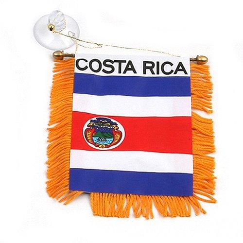 World Mini Banner-Costa Rica