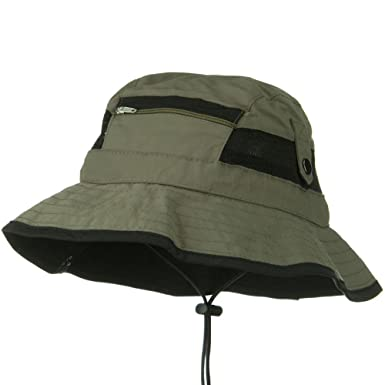 50c0bddad8094 UV 50+ Side Snap Talson Sun Bucket Hat - Green -  Amazon.co.uk  Clothing