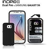 Incipio DualPro Dual Layer Protection Case For Samsung Galaxy S6 (Black)
