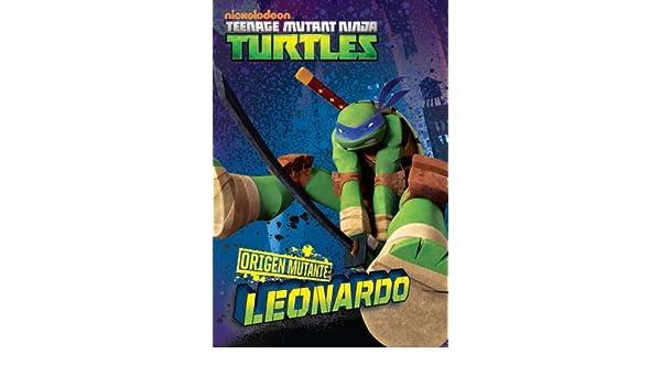Amazon.com: TORTUGAS NINJA: ORIGEN MUTANTE: LEONARDO ...