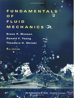 fundamentals of fluid mechanics bruce r munson donald f young