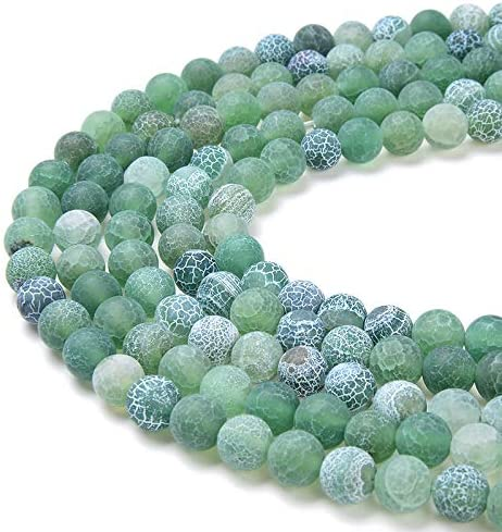 6MM GARDEN GREEN JADE GEMSTONE GREEN ROUND 6MM LOOSE BEADS 16/""