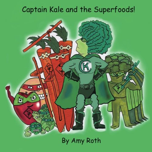 Captain Kale and the Superfoods