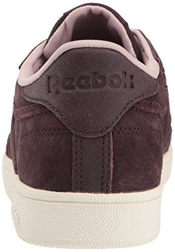 Reebok Kvinders Klub C 85 W & W Sneaker Urbane Blomme / Shell Pink / Cha LJY0Jw
