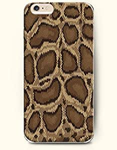 Brown Serpent Grain - Snake Skin Print - Phone Cover for Apple iPhone 6 Plus ( 5.5 inches ) - SevenArc Authentic...
