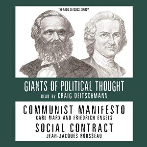Communist Manifesto & Social Contract  Audiobook