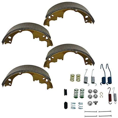 Rear Brake Shoes & Hardware Spring Pin Set Kit for Chevy GMC Buick Olds Pontiac ()