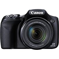 Canon PowerShot SX520 16Digital Camera with 42x Optical Image Stabilized Zoom with 3-Inch LCD (Black) International Version (No warranty)