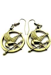 Bine Fashion Bohemia Style Women Lady the Hunger Games Dangle Earrings Elegant Jewelry