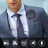 XFUNY Spy Pen Camera, Mini Hidden Camera 16GB 1080P Video & Photo & Voice Recorder with Motion Detection & Night Vision & Loop Recording, Max 10 Hours Recording