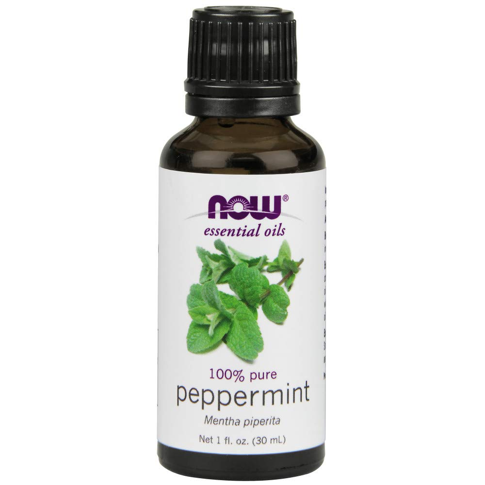 NOW Solutions Peppermint Essential Oil, 1-Ounce
