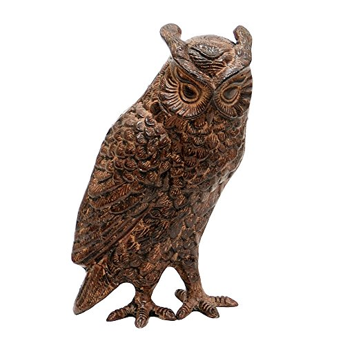 Achla Designs Great Horned Owl Garden Statue ()