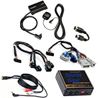 Complete SiriusXM Radio System for Satellite Ready GMC, PLUS Aux Input (iPod etc) WORKS WITH MORE MODELS Sirius XM GM