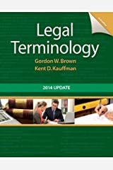 Legal Terminology: 2014 Update (2-downloads) Kindle Edition