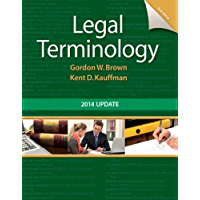 Legal Terminology: 2014 Update (2-downloads)