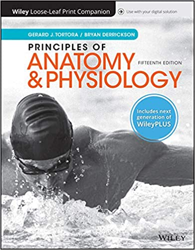 principles of anatomy and physiology 15e wileyplus registration card looseleaf print companion