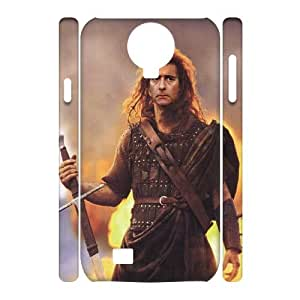 Winfors Braveheart Mel Gibson Phone 3D Case For Samsung Galaxy S4 i9500 [Pattern-6]