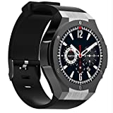 H2 Smart Watch Android 5.1 3G Smartwatch MTK6580 1GB 16GB Wearable Devices Reloj Inteligente With GPS Wifi Smartwatch For Iphone Android (black)
