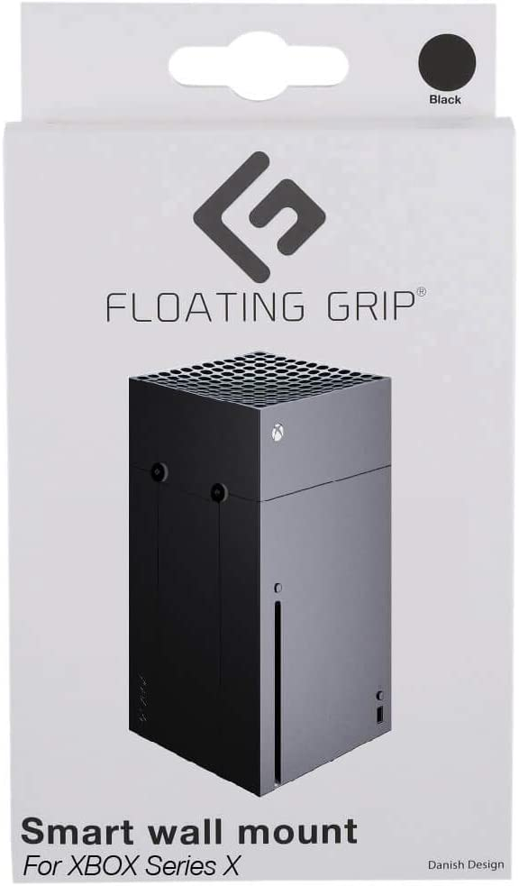 White Xbox Series X Wall Mount by FLOATING GRIP
