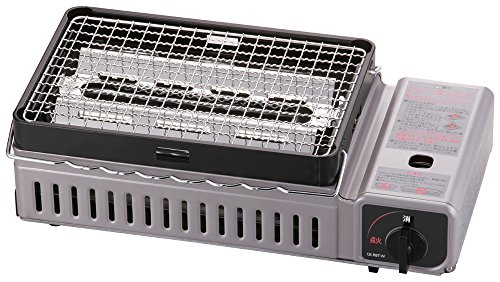 Iwatani cassette dedicated grilled skewers CB RBT W
