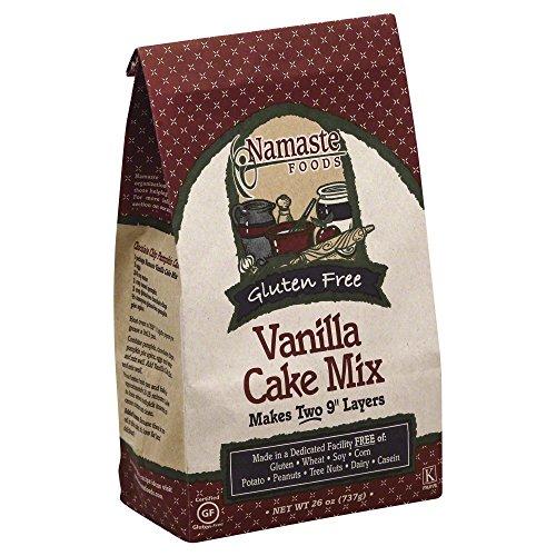 Namaste Foods Vanilla Cake 26.0 OZ (Pack of 6)
