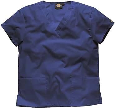 Dickies Mujer Camisa Medica Ultra cómodo. -Profesiones : Dentista/Enfermera/Veterinario/Medico/Sanitaria, tamaños para Elegir (XS, Azul Oscuro): Amazon.es: Ropa y accesorios