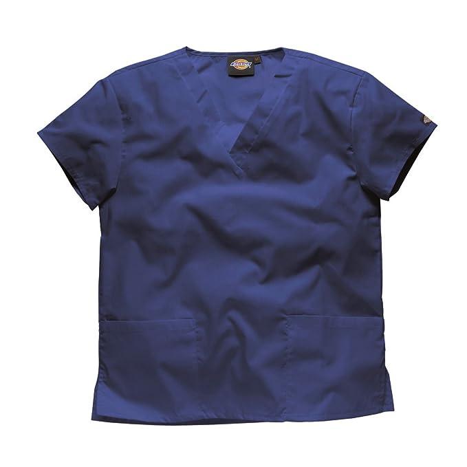 Dickies Mujer camisa medica ultra cómodo. -Profesiones : Dentista/Enfermera/ Veterinario/