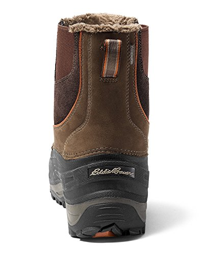Boot Eddie Timber Gray On Pull Snowfoil Men's Bauer xw77q8HX