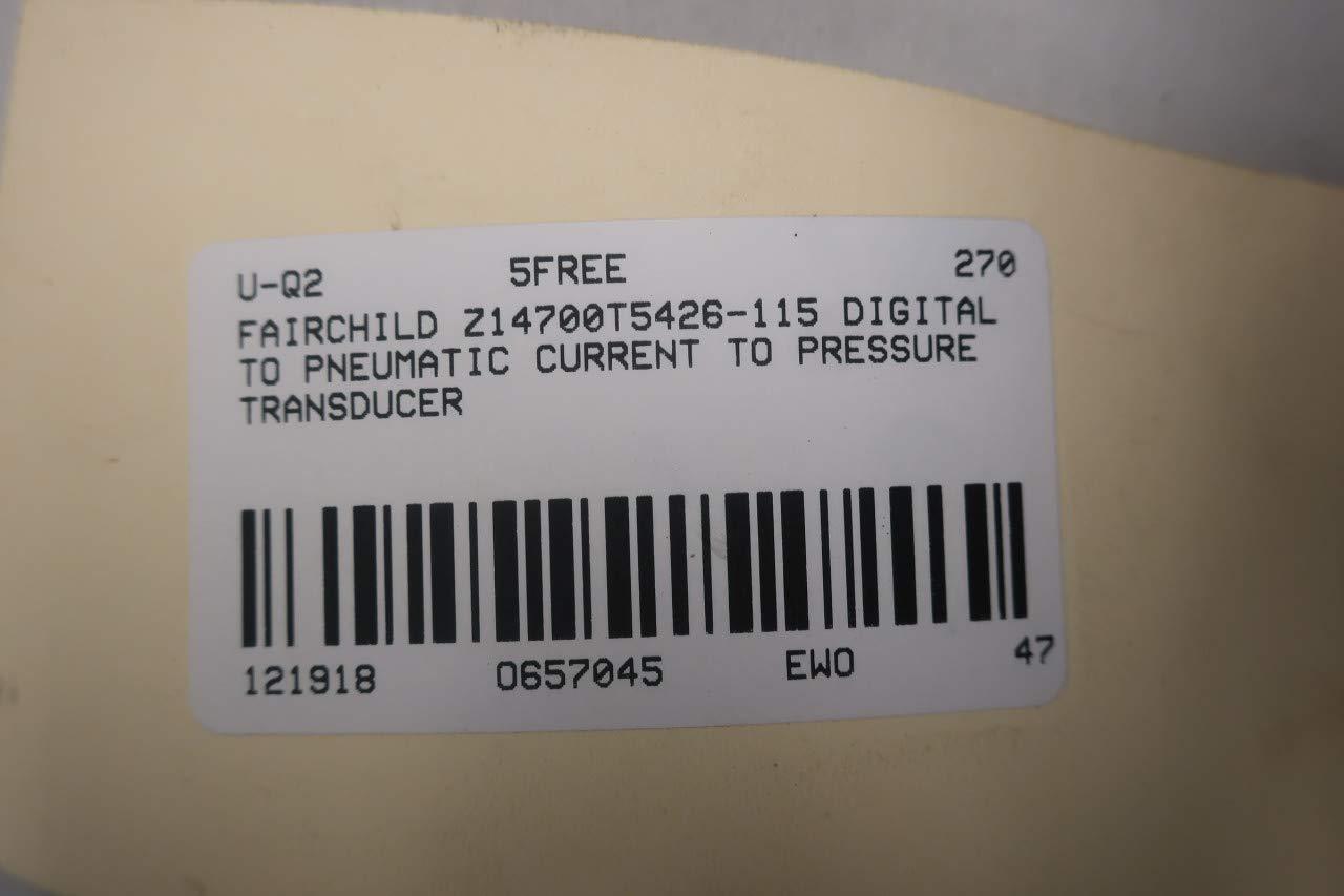 FAIRCHILD Z14700T5426-115 Digital to Pneumatic TRANSDUCER D657045