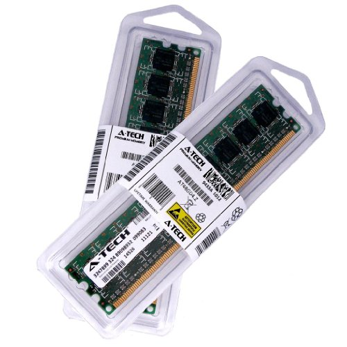 - 4GB kit (2GBx2) DDR3 PC3-10600ECC Unbuffered DESKTOP Memory Modules (240-pin DIMM, 1333MHz) Genuine A-Tech Brand
