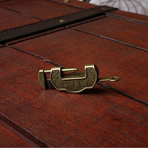 CMX Pieza plata cerradura. antiguo viejo cajas candados ...