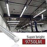 Kihung 8ft LED Shop Light Fixture, V Shape T8