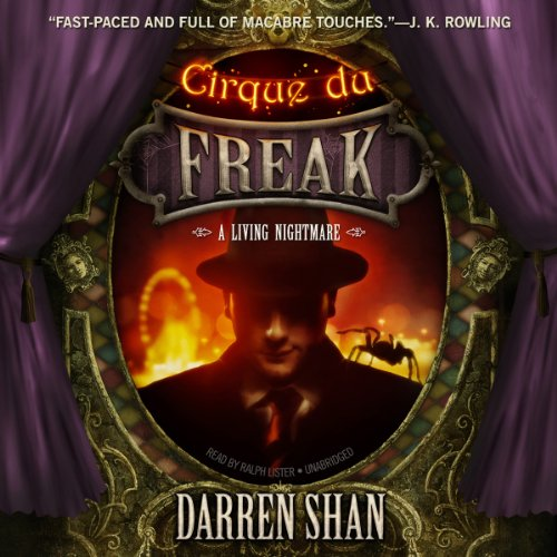 Cirque du Freak: A Living Nightmare: The Saga of Darren Shan, Book 1 Audiobook [Free Download by Trial] thumbnail