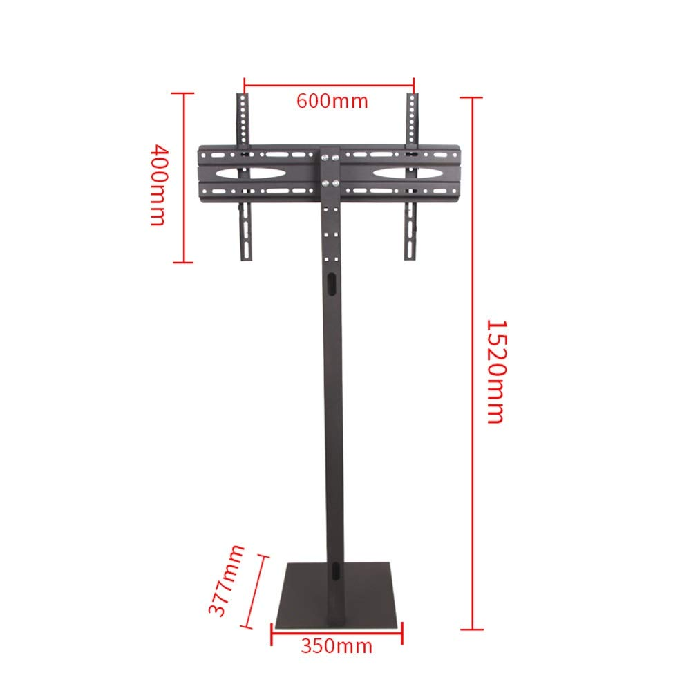 JL TV Rack Floor Stand Bracket Base Mobile Punch-Free Display Bracket Multi-Function A+ (Size : B) by Monitor Stand