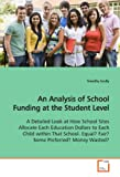 An Analysis of School Funding at the Student Level, Timothy Scully, 3639150953