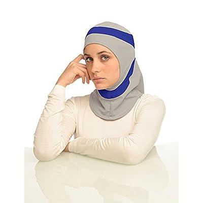 Capsters - Ensemble bonnet, écharpe et gants - Femme multicolore grey & cobalt blue Taille unique
