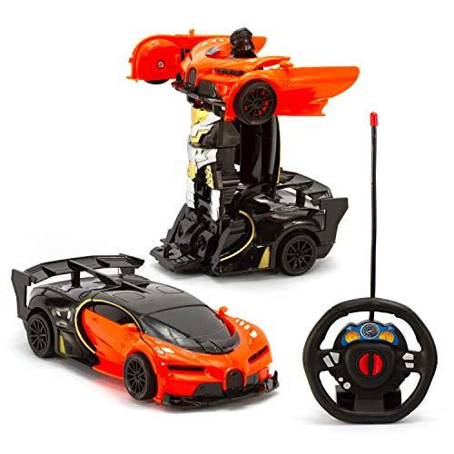 Carrinho de Controle Remoto Carro Robo Bateria Recarregável CAR502L