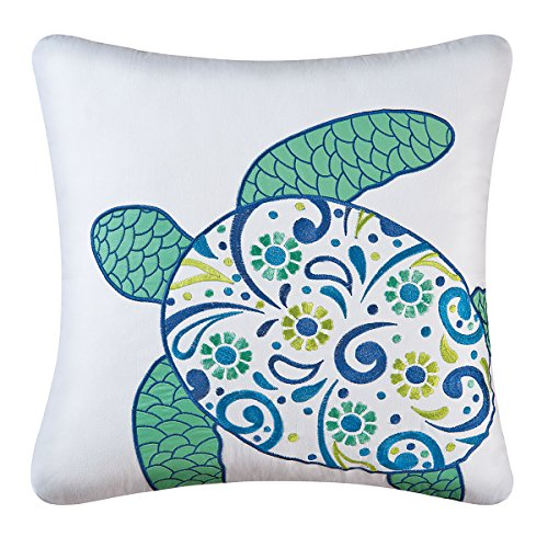 C&F Home 842981720C Meridian Sea Turtle Pillow -