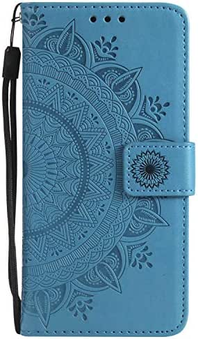Galaxy J7 Prime Case, The Grafu Leather Case, Premium Wallet Case with [Card Slots] [Kickstand Function] Flip Notebook Cover for Samsung Galaxy J7 Prime, Blue