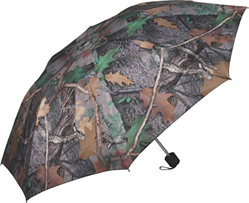 River's Edge Products Compact Folding Camouflage Army Green Camo Umbrella 42'' (Umbrella Golf Army)