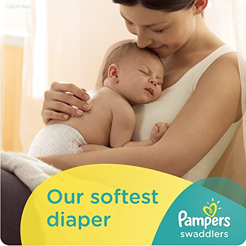 Large Product Image of Pampers Size 1 Swaddlers Newborn Diapers, 168 Count