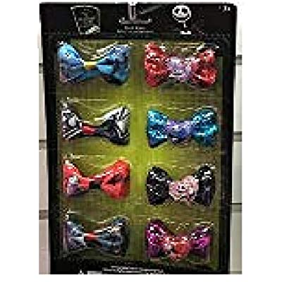 Disney The Nightmare Before Christmas 8Pk Bows On Card: Toys & Games
