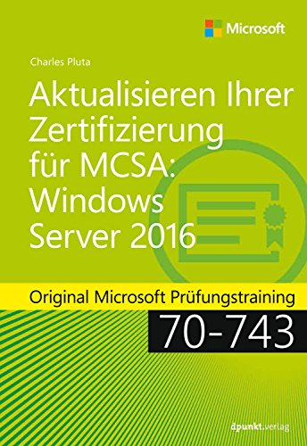 Amazon.com: Aktualisieren Ihrer Zertifizierung für MCSA: Windows ...