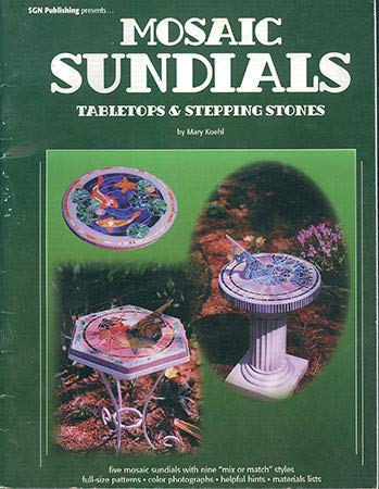 - Mosaic Sundials - Mosaic Pattern Book - DISCONTINUED