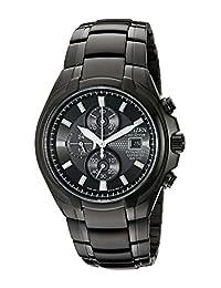 Citizen Men's Eco-Drive Titanium Watch Grey CA0265-59E