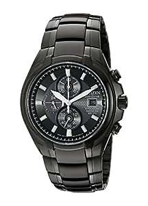 Citizen Men's Eco-Drive Titanium Chronograph Watch with Date, CA0265-59E